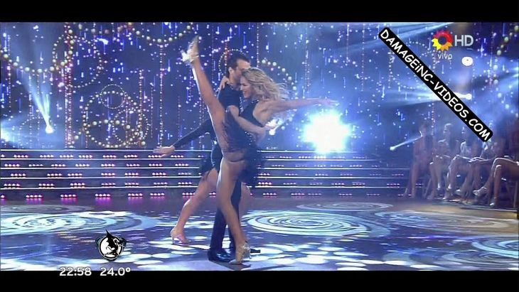 Florencia Vigna hot upskirt in Bailando 2016 Damageinc Videos HD