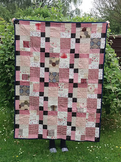 Disappearing nine patch quilt by Jane O'Leary