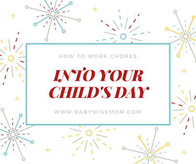 Working Chores Into Your Child's Day