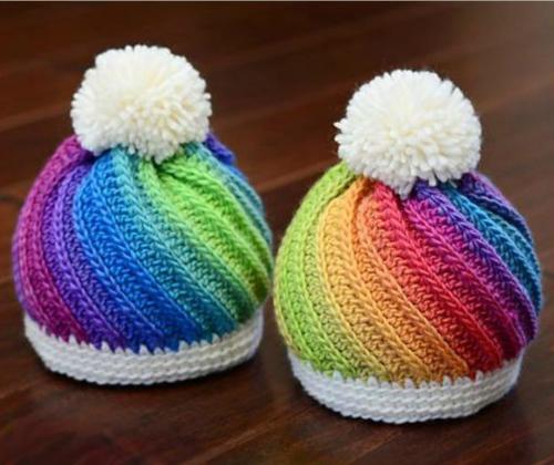 Crochet Swirled Beanie - Tutorial