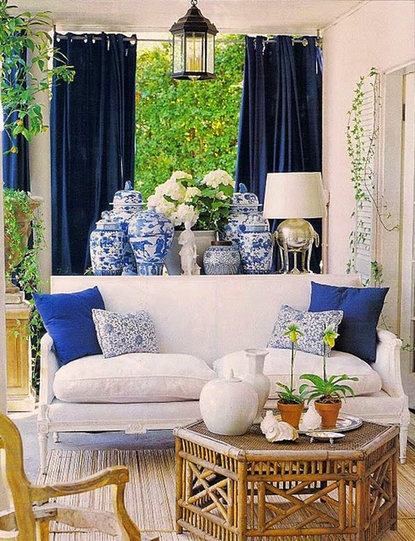 Love Design Barbados *: Blue and White Chinoserie Chic ...
