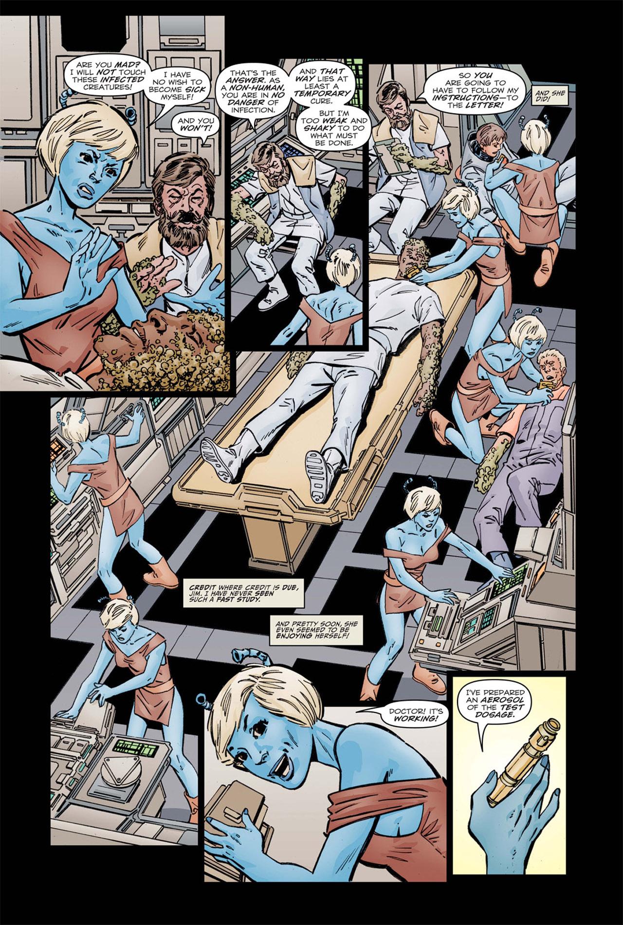 Read online Star Trek: Leonard McCoy, Frontier Doctor comic -  Issue #1 - 22