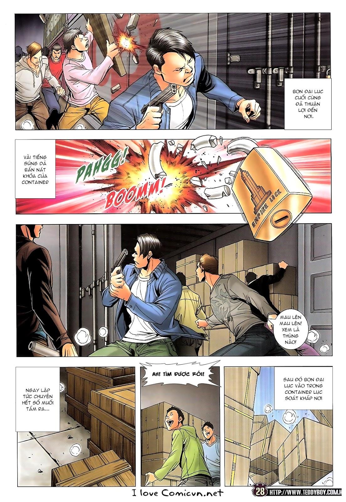 Người Trong Giang Hồ chapter 1673: tắm máu lưu phù sơn trang 23