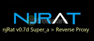 njRat v0.7d Super_a > Reverse Proxy