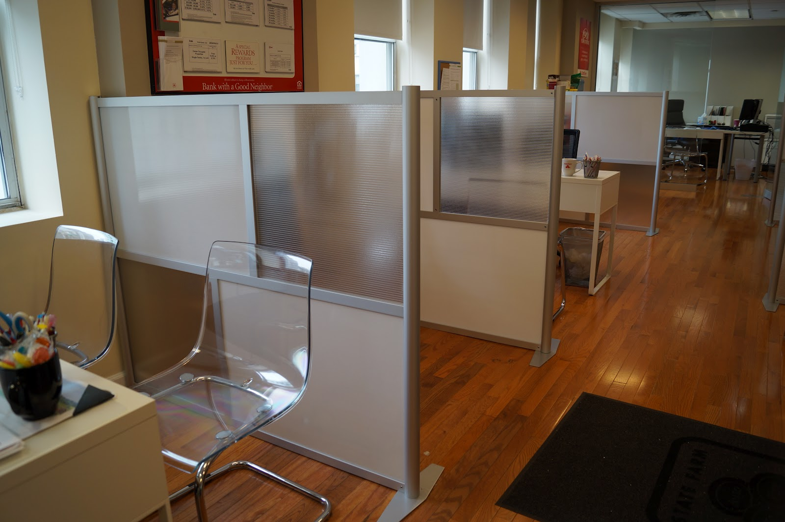 iDivide Modern Modular Office Partitions & Room Dividers ...