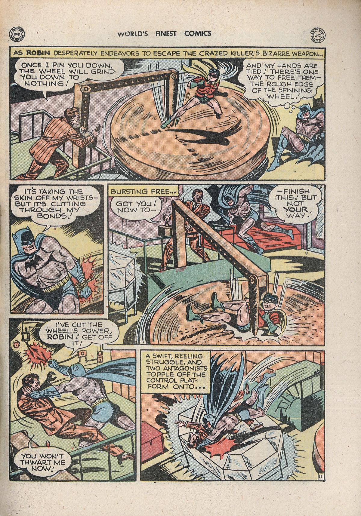 Read online World's Finest Comics comic -  Issue #33 - 71