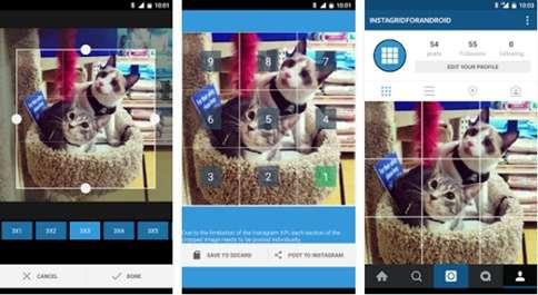 Cara Memotong dan Upload Foto Ukuran Besar ke Instagram