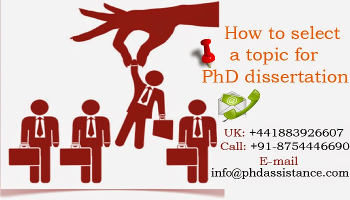 how to choose a phd thesis