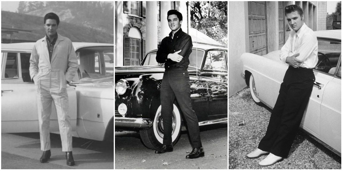 Rare Vintage Photographs of Elvis Presley Posing With His Much-Loved Cars
