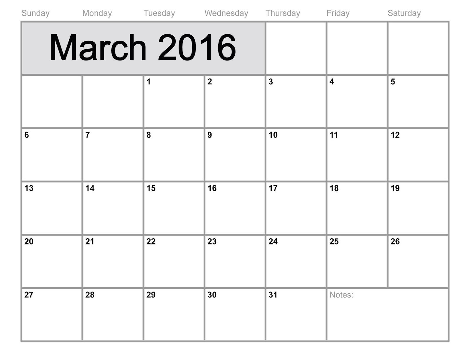 Printable Calendar 2016 2017 February 2016
