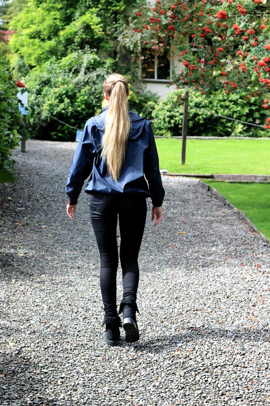 Travel blogger autumn visit to Rydal Mount Lake District