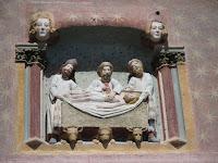 Catedral de Burgos bajorelieve Claustro