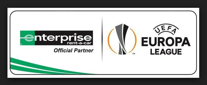 20078d54e0 A empresa de aluguel de carros norte-americana Enterprise Rent-A-Car  estendeu seu acordo de patrocínio e vai apoiar a Liga Europa até 2021.