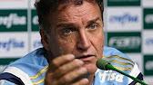Coletiva do técnico Cuca - Palmeiras x Grêmio