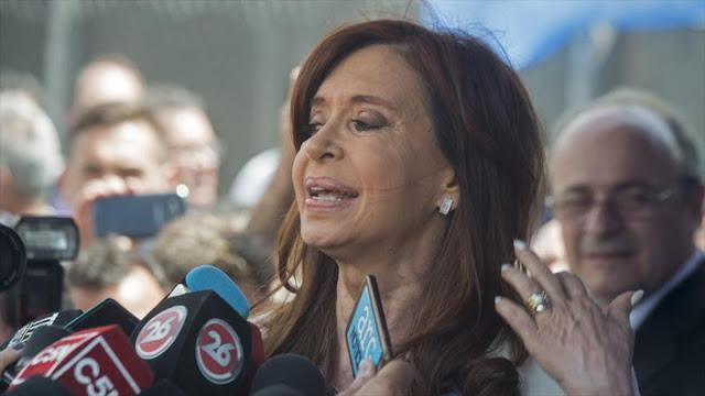 Cristina Fernández: con persecución judicial, Macri busca callar a la oposición
