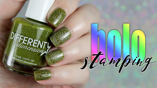 Different Dimension + Colors by Llarowe Holo Stamping