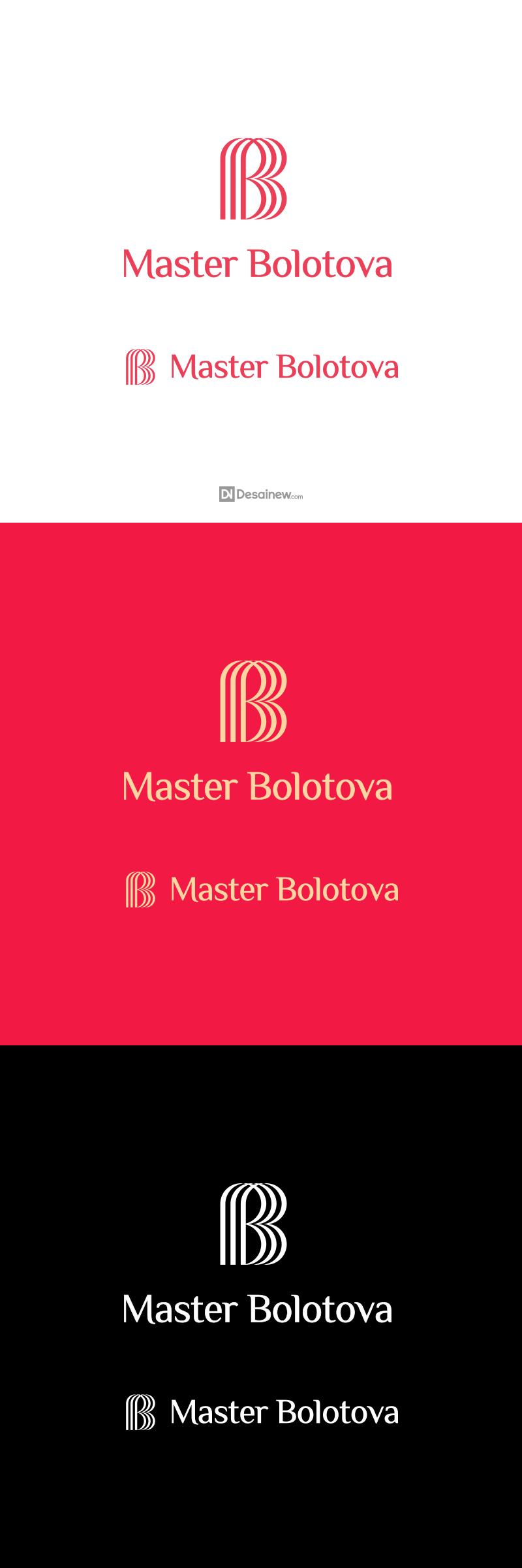 Master Bolotova Logo Design Project Portfolio Desainew Studio