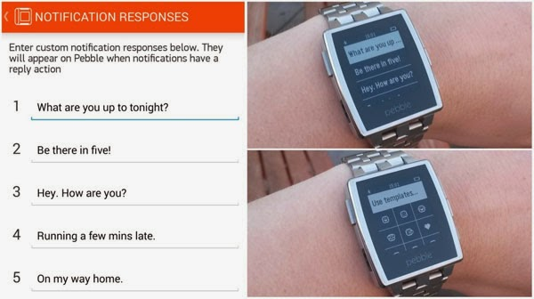 Pebble brings Android Wear notifications support to smartwatch