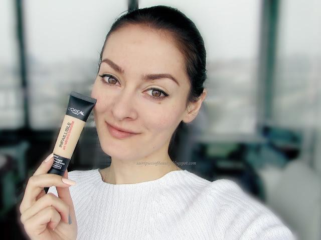 Стойкий матирующий тональный крем 24h Infaillible от L'Oréal