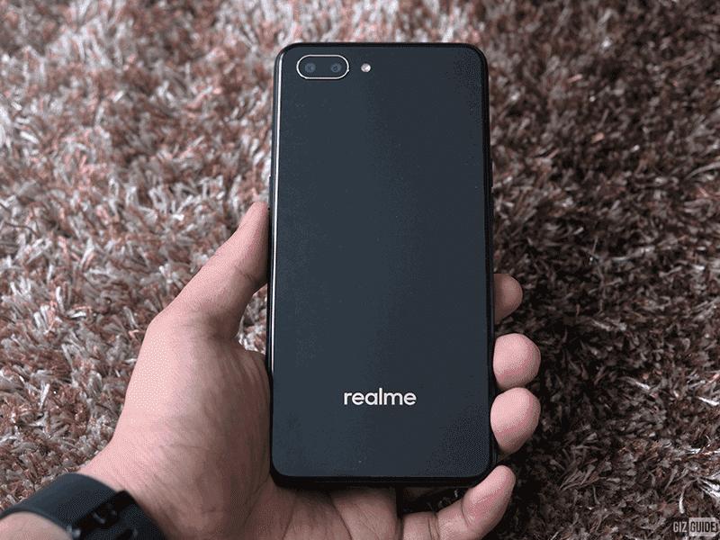 Realme C1  in Mirror Black