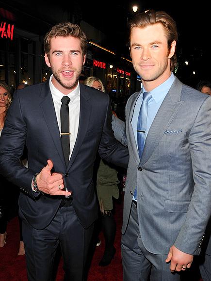 Musos da Semana:Liam e Chris Hemsworth
