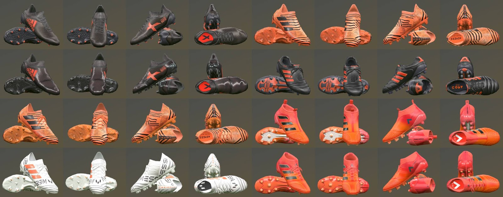 PES 2017 Adidas Pyro Storm Pack Boots by T09