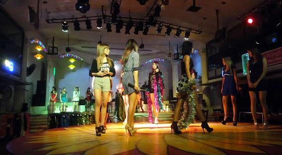 Yangon nightclub girls