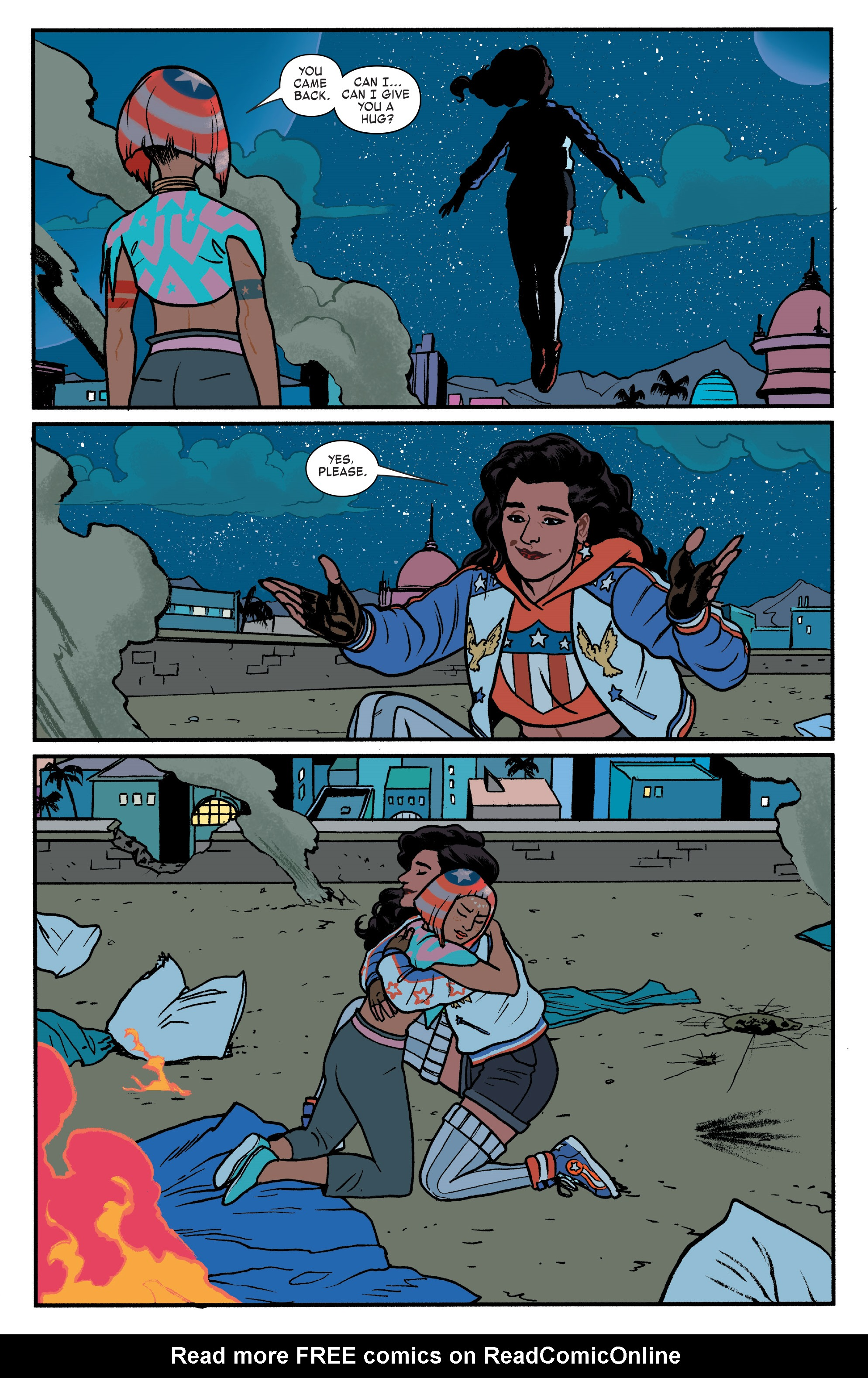 Read online America (2016) comic -  Issue #4 - 14