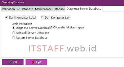 Diagnosa Server Database EASY6 - ITSTAFF.web.id