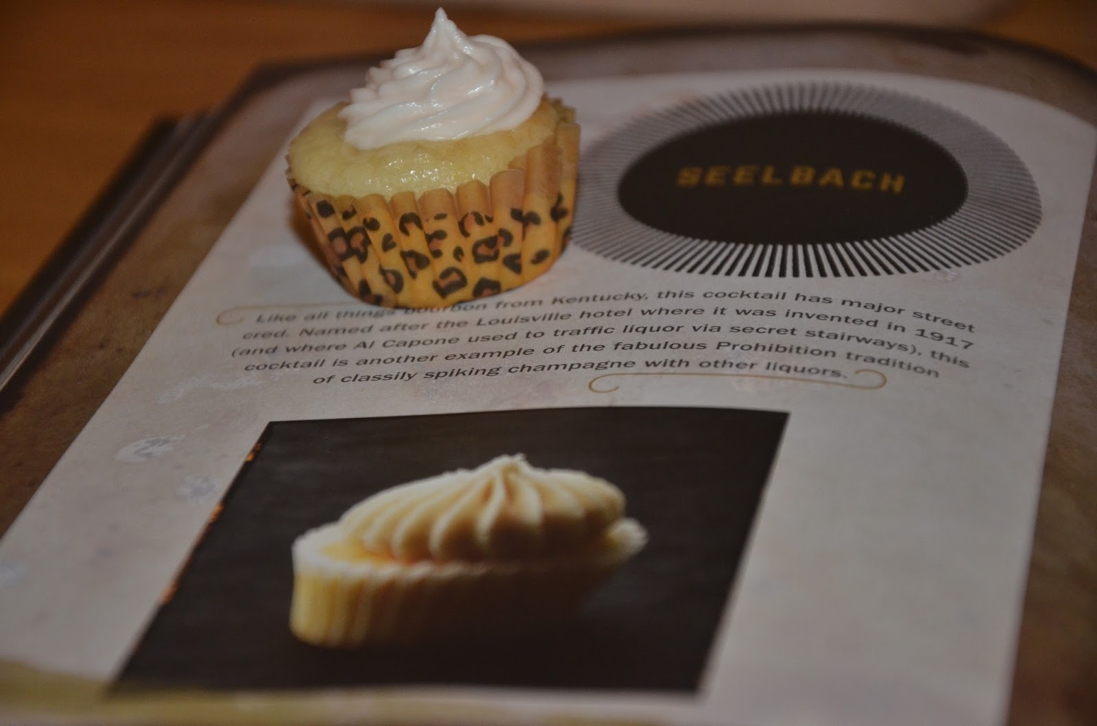 Seelbach Cupcake