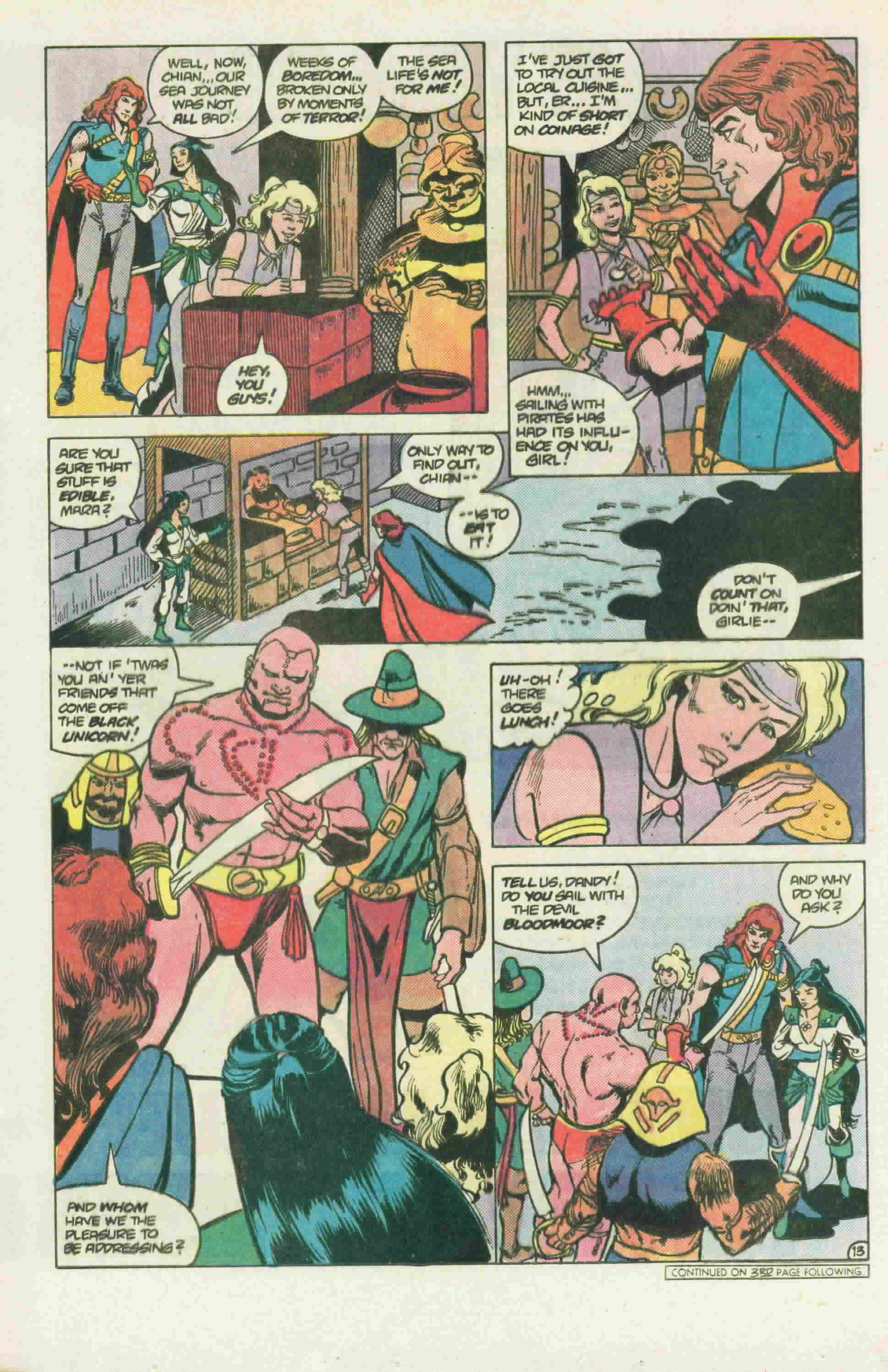 Read online Arion, Lord of Atlantis comic -  Issue #22 - 18