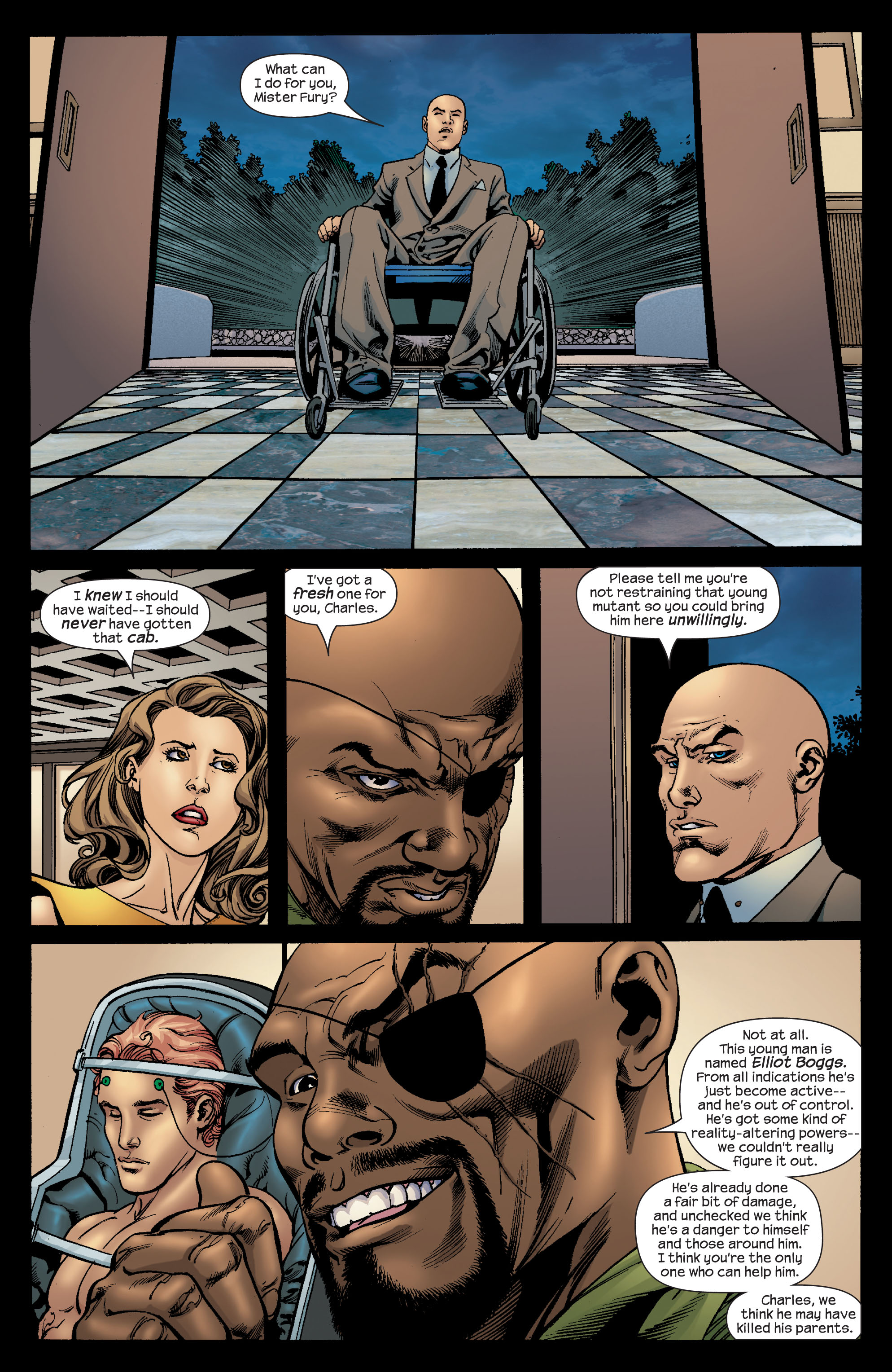 Read online Ultimate X-Men comic -  Issue #68 - 19