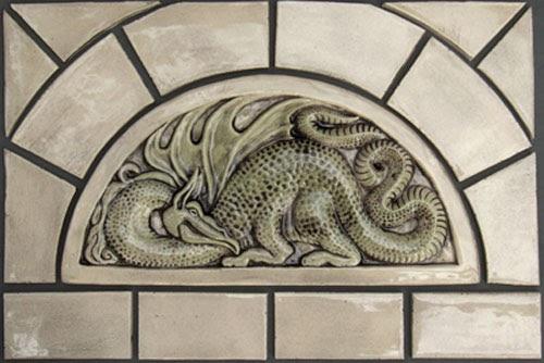 Decorative Handmade Ceramic Tile Decorative Handmade