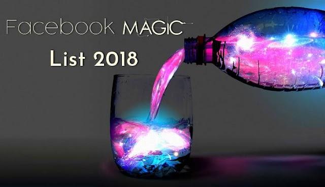 Facebook Magic Code List 2018 - 2019 ( Fb Color Codes)