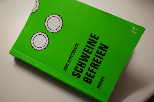 Fotografie: Buch Schweine befreien