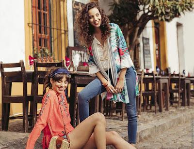 Moda primavera verano 2019. Ropa de moda looks bohemios primavera verano 2019.