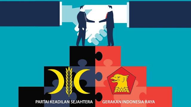 QC Sementara Indo Barometer: Gerindra Salip Golkar, PKS Melejit