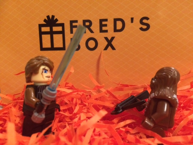 Star Wars figures in the Fred's Box box