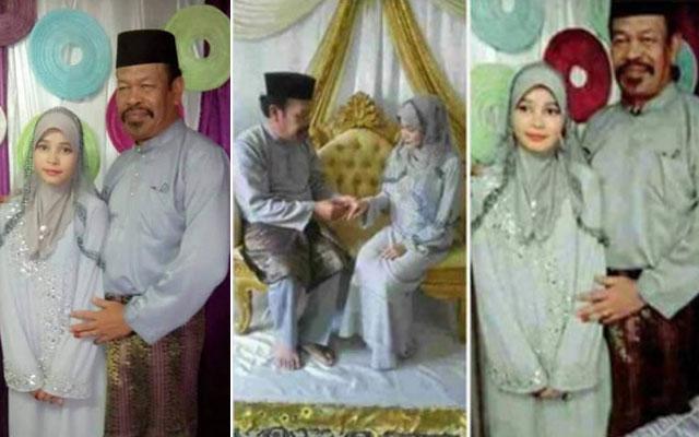 Gadis Cantik 18 Tahun Menikahi Gurunya Yang Berusia 52 Tahun