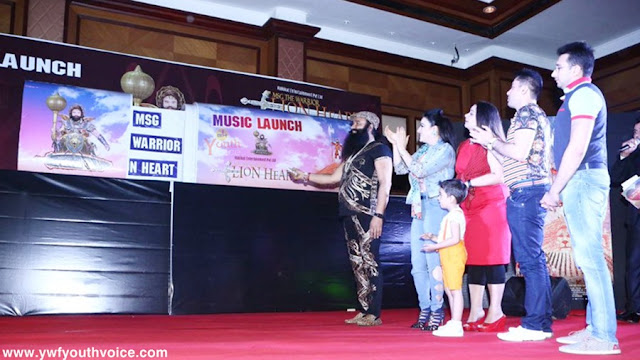 MSG The Warrior Lionheart Music Launch Title Song Download Images Ijjat Ka Rakhwala Sherdil