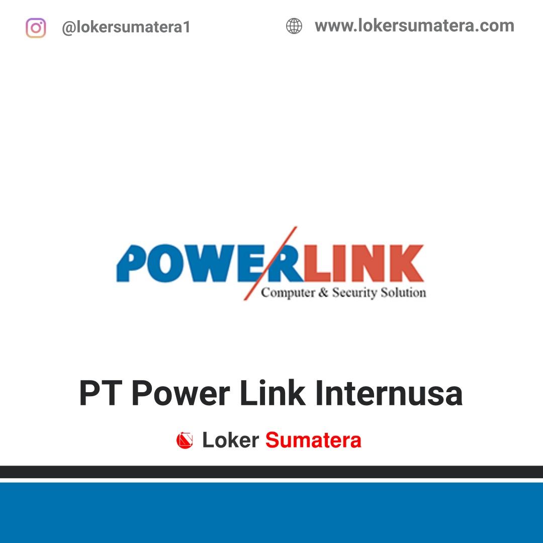 Lowongan Kerja PT Powerlink Internusa Pekanbaru Februari 2020