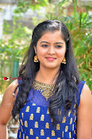 Tamil Actress Amritha Pos in Blue Long Dress at Padaiveeran Tamil Movie Audio Launch  0002.jpg