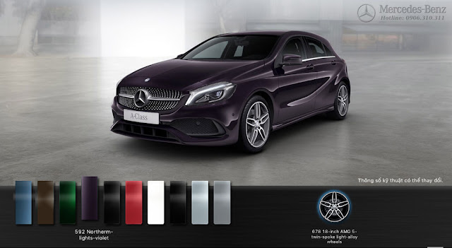 Mercedes A250 2017