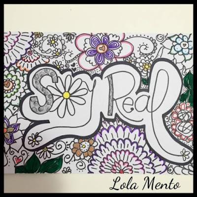 ilustraciones, LolaMento, soy real, cuadros, cuadros originales, primavera, mujeres reales, regalos creativos, doodle