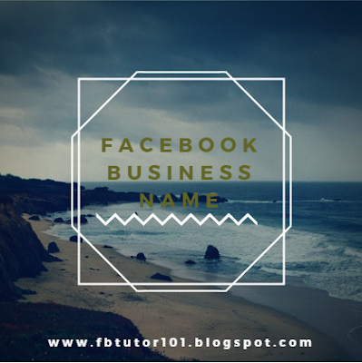 Facebook Business Name