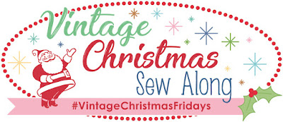 Vintage Christmas sew along with the Fat Quarter Shop