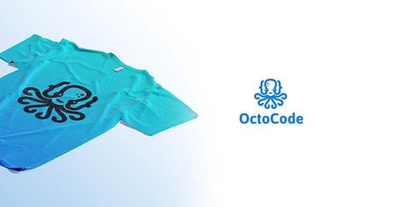 Inspirasi Desain Logo Kreatif 2017 - OctoCode Logo Design