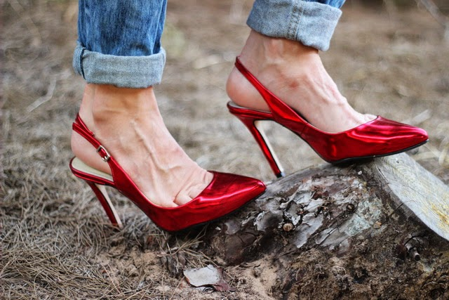 Red shoes - Calzado nacional - Made in Spain - Fashion blogger
