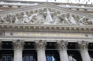 NY証券取引所写真