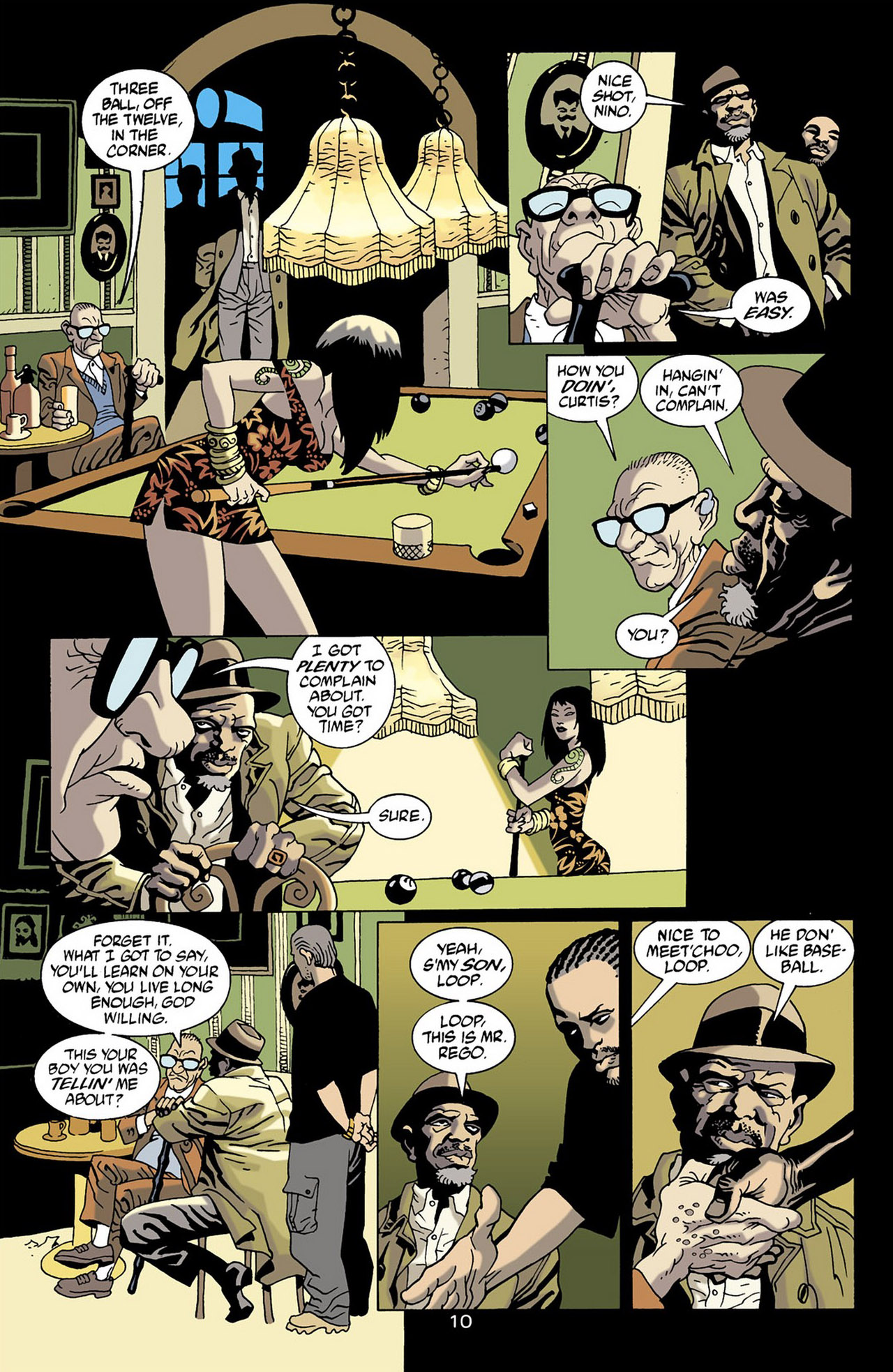 Read online 100 Bullets comic -  Issue #16 - 11
